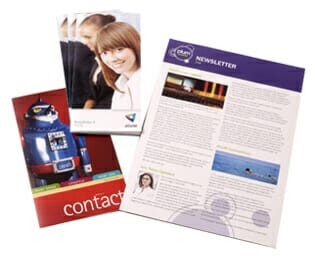 Printed Newsletters examples