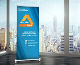 pull up banner to promote your business