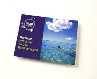Personalised direct mail