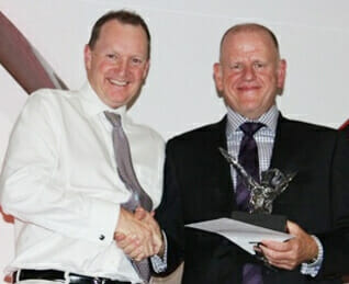 David Bell rewarding the Franchise of the year