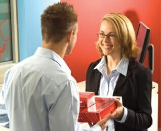 Kwik Kopy customer interaction