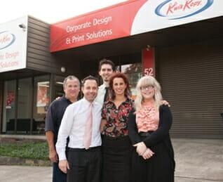 Kwik Kopy Ringwood employees