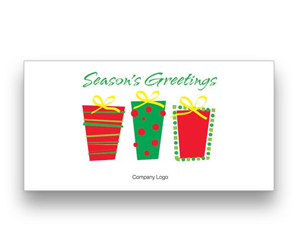 Presents Christmas Card