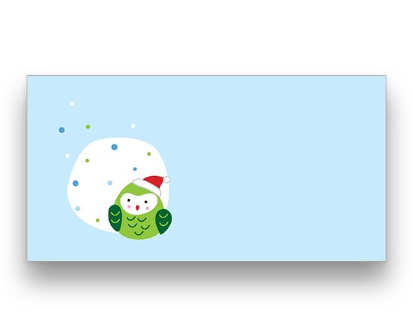 Christmas Bird Christmas Card