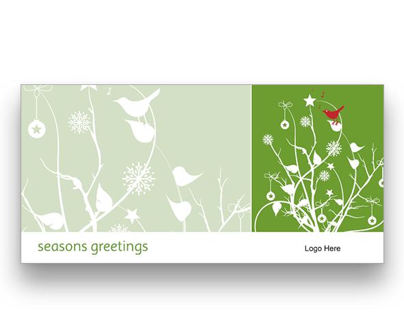 Christmas Robin Christmas Card
