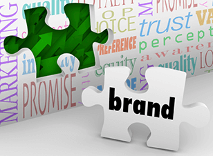 Brand identity puzzle