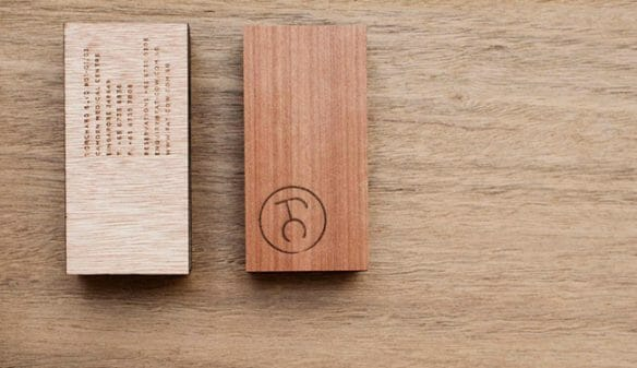 Creative business cards - Fat Cow