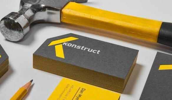 Creative business cards - Konstruct