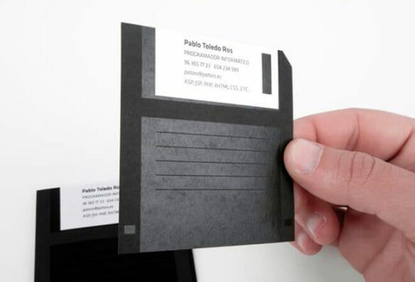 Creative business cards - Pablo Toledo