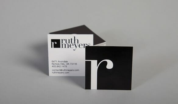 Creative business cards - Ruth Meyers
