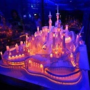 Wataru Itou paper crafted castle