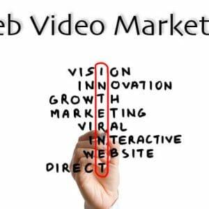 Web video marketing