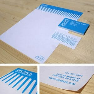 Business stationery letterhead