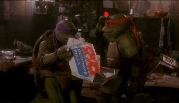 TMNT Dominos Pizza
