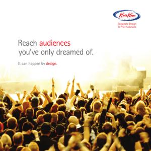 Reach audiences with Kwik Kopy design
