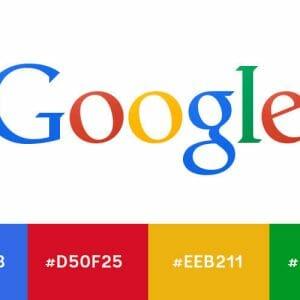 Google colour schemes