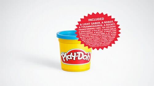 Playdoh print ad