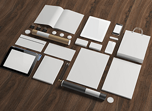 Business stationery for marketing
