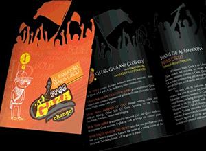 brochure laser cut
