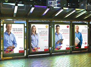 use posters to market your business
