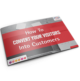 How to convert visitors into customers booklet