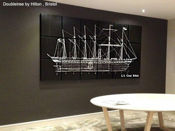 canvas art for office