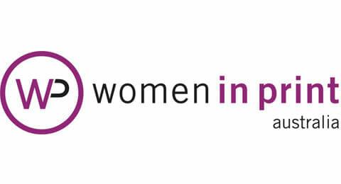 Women in Print logo
