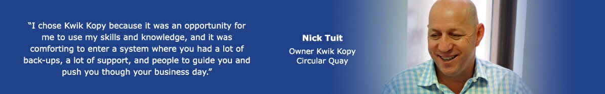 Circular Quay owner Nick quote banner