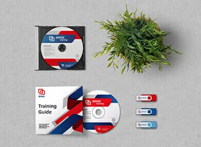 USB, CD and DVD duplication