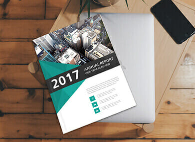 printed annual report