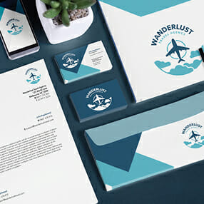 Business stationery and business cards