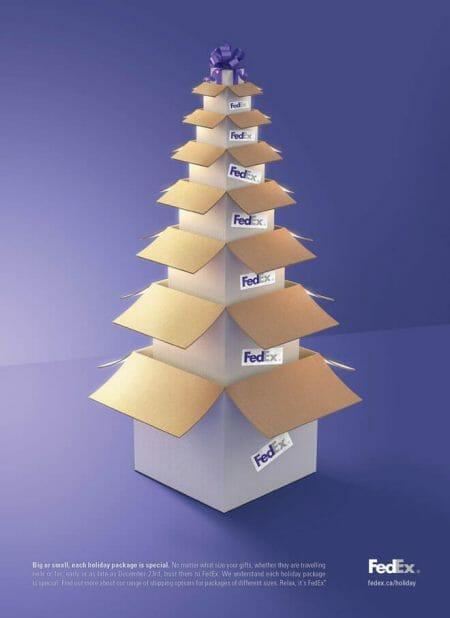 Fedex christmas advert