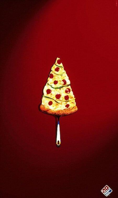Dominos pizza christmas advert