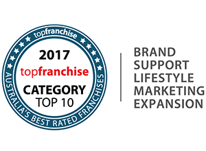 Kwik Kopy made it to the top 10 of the 2017 Top Franchise Award