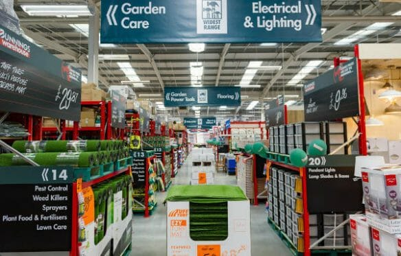 in-store signs that help direct customers
