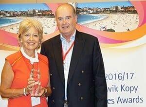 winners of the Kwik Kopy Franchise of the Year award