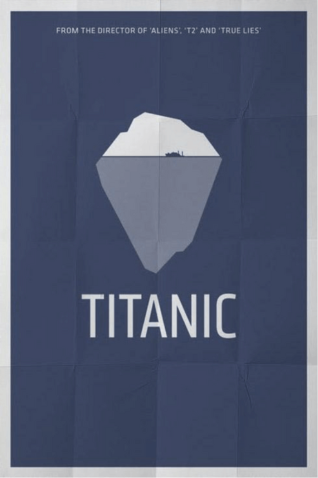 Titanic poster design