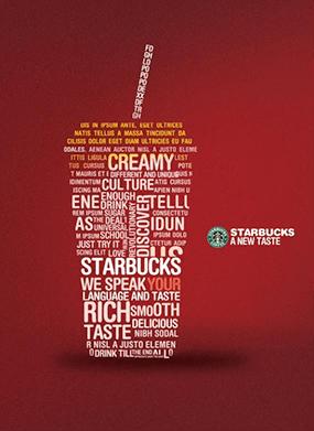 Starbucks Printed poster