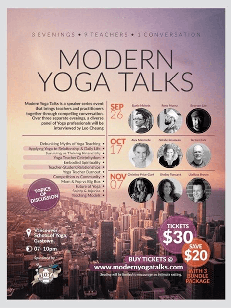 Yoga printed poster idea