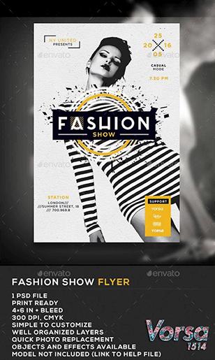 Fashion poster printing