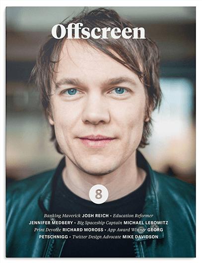 Offscreen poster design