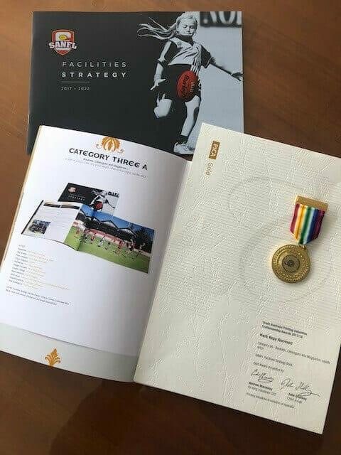 Kwik Kopy Norwood winning booklet entry for printing awards