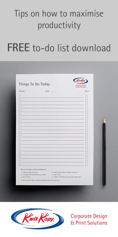 Free to-do list to maximise productivity