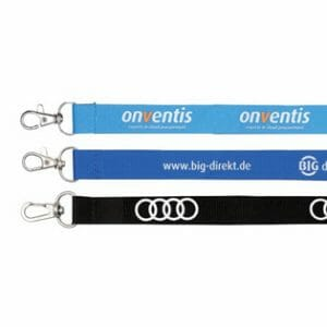 Printed lanyards and clips