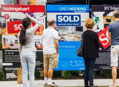 Real estate corflute signage