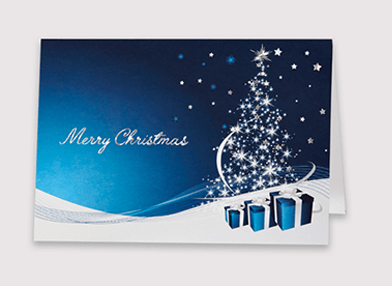 Christmas card for businesses