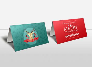 Branded christmas card printing