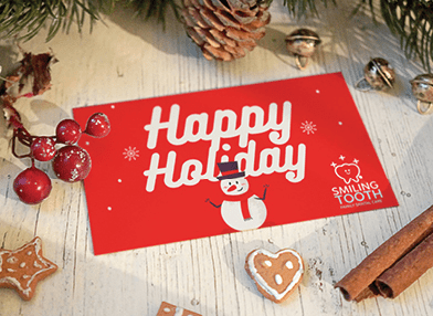 Happy Holiday christmas card printing