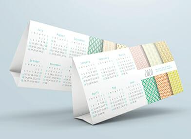Branded 2020 calendars for business