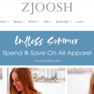 Zjoosh website case study
